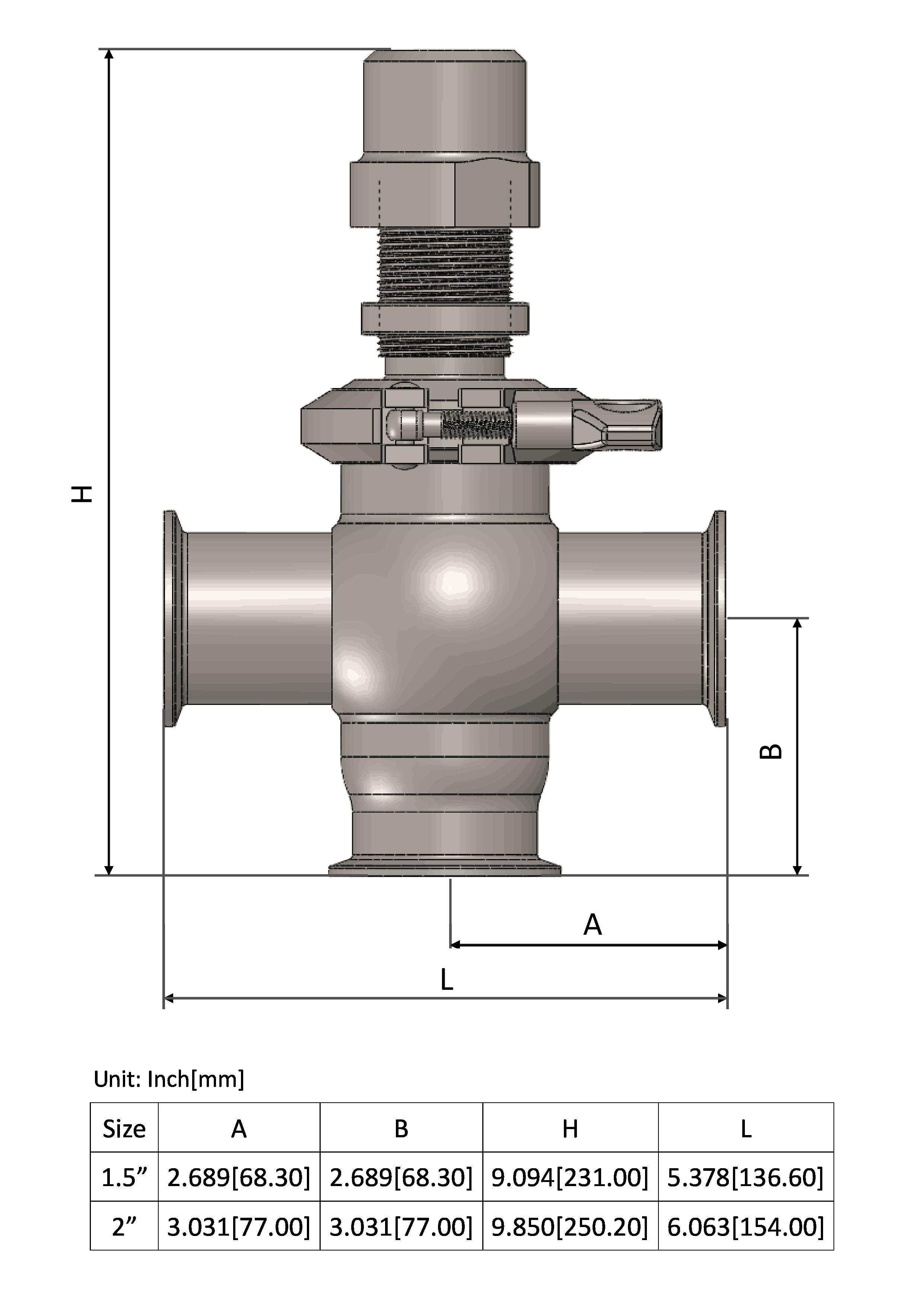 Manual Pressure Relief Valve