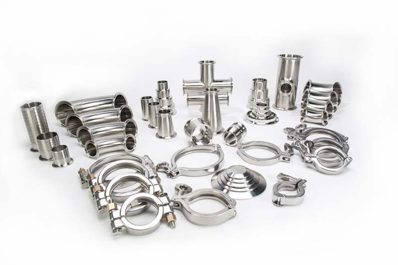 Sanitary Stainless Steel Clamp Fittings